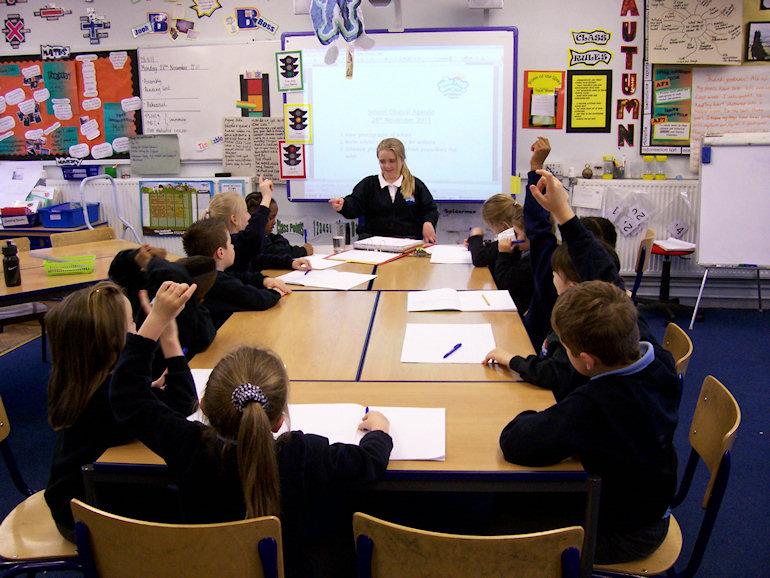 A School Council meeting