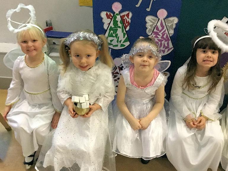 Reception's Nativity