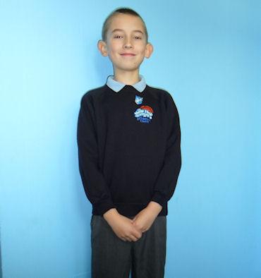 Example of boys' uniform