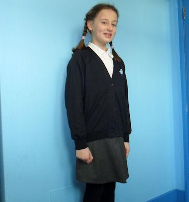 Example of girls' uniform