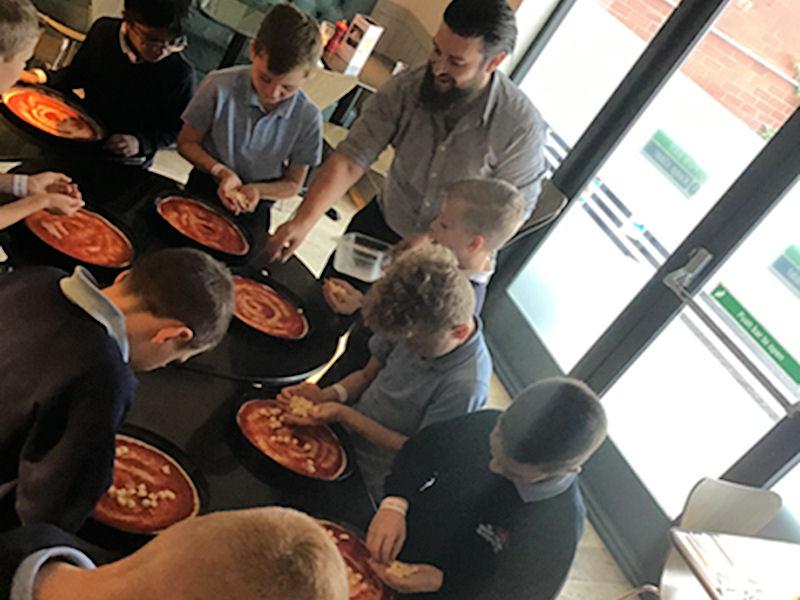 Year 4 at Pizza Express